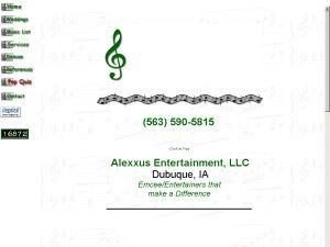 Alexxus Entertainment