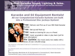 U Rent Sound and Lighting Services