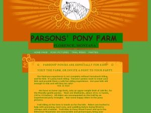 Parsons Pony Farm