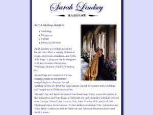 Sarah Lindsey-Harpist