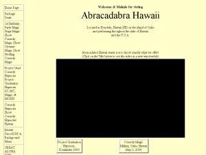 Abracadabra Hawaii