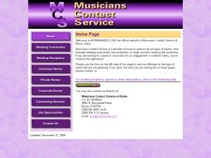 Musicians Contact Service