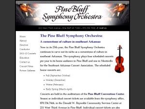 Pine BLUFF Symphony Orchestra