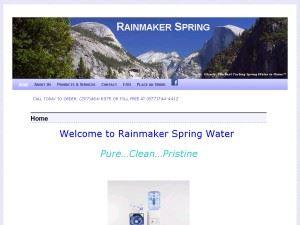 rainmaker Spring Water