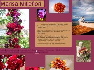 Marisa's Flowers/Millefiori