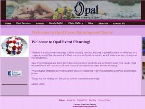 Opal Event Planning and Decor