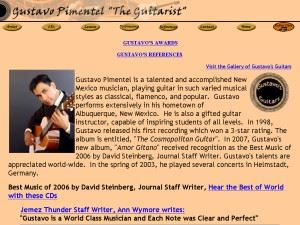 "Gustavo Pimentel ""The Guitarist"""