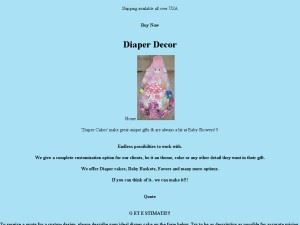 Diaper Decor