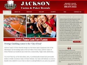 Jackson Casino & Poker Rentals