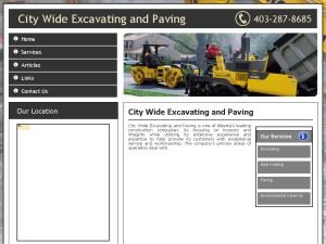 City Wide Excavating and Paving | Paving Calgary - Excavating Calgary