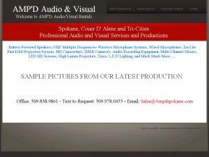 AMP'D Audio Visual