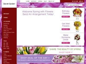 Secret Garden Flowers and Gifts