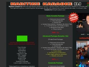 Maritime Karaoke DJ