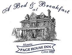 A Bed And Breakfast At Historic Page House Inn