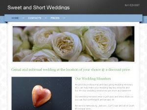 Sweet & Short Weddings