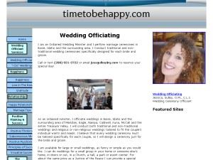 A Time To Be Happy Wedding Officiating