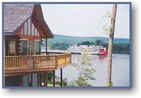 Colucci Log Cabins On The Ohio River