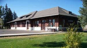 The Laramie Railroad Depot