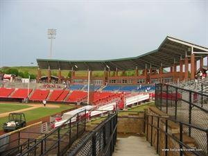 L P Frans Stadium - Hickory Crawdads