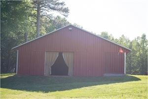 Red Tin Barn