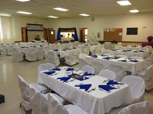 Des Moines Masonic Lodge #245 Banquet Hall