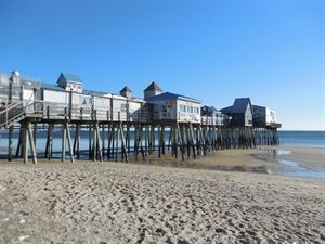 Lindbergh's Landing - The Old Orchard Beach Pier