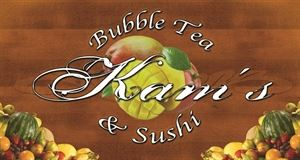 Kam's Bubble Tea & Sushi