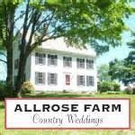 Allrose Farm Country Weddings