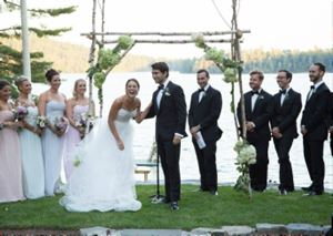 Bear Pond Weddings at Camp Wigwam