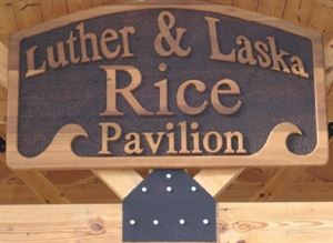 Luther and Laska Rice Pavilion