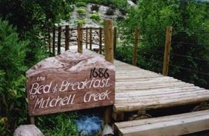 The Bed And Breakfast On Mitchell Creek