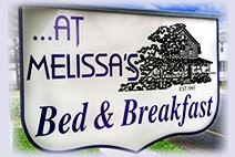 At Melissa's Bed & Breakfast